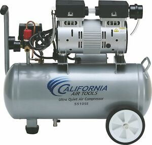 California Air Tools 5510se Ultra Quiet Oil free Air Compressor used