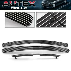 Chrome Billet Grille Combo Fits For 99 02 Chevy Silverado 00 06 Tahoe