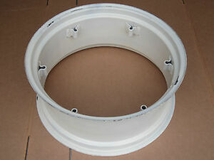 New Wheel Rim 12x28 6 loop Fits Mf Massey Ferguson 35 50 65 120 135 165