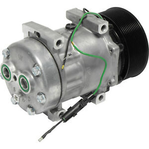 Ryc Remanufactured Ac Compressor And A c Clutch Afg513 Replaces Sanden 4051