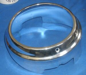60 Chevrolet Impala Biscayne Bel Air Inner Headlight Bezel Trim