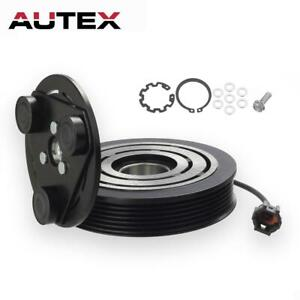 Ac A C Compressor Clutch Repair Kit Pulley Coil Hub Fit Nissan Altima 02 06 3 5l