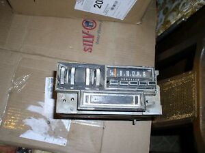 Mopar Chrysler 8 Track Am Radio Thumbwheel