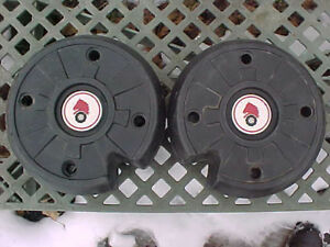 WHEEL HORSE TRACTOR WHEEL WEIGHTS 43 lbs. EACH PICK-UP ONLY WOODSTOCK NY