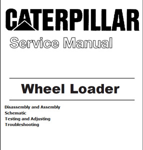 Caterpillar Cat 910 Compact Wheel Loader Repair Service Manual