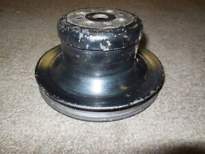 Used Original 1969 Ford Mustang Fairlane 302 351w Water Pump Pulley C9oe 8509 f