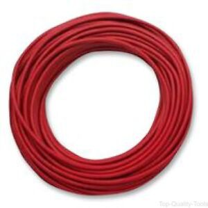 Wire Stranded Test Lead Silicone Rubber Red 18 Awg 50 Ft 15 2 M