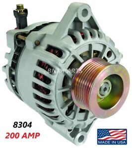 200 Amp 8304 Alternator Ford Mustang Cobra W S c 2003 2004 High Output Hd New