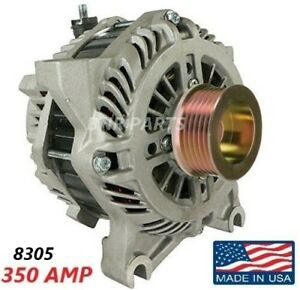 350 Amp 8305 Alternator Ford Expedition Lincoln Navigator High Output Hd New