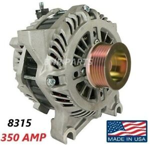 350 Amp 8315 Alternator Lincoln Mercury Ford High Output Performance Hd New Usa