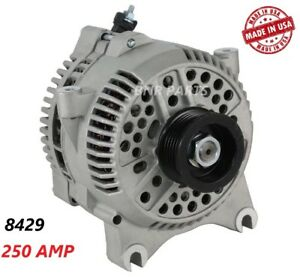 200 Amp 8429 Alternator Ford F250 F350 F450 F550 Super Duty High Output Perform