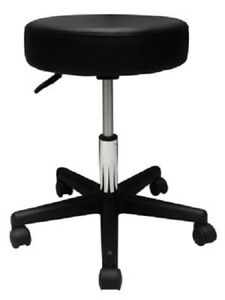 Stool Medical Doctor Office Black Adjustable Pneumatic Dental Exam Chair Midmark