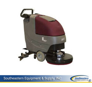 New Minuteman E20 Disc Brush Driven Automatic Scrubber quick Pack agm Batteries