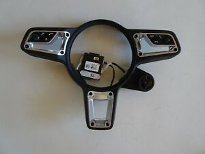 Porsche 991 2 911 Steering Wheel Blk Center Multi Function Controls And C Unit