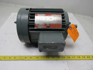 Lincoln Tv 2509 1 1 2hp Electric Motor 230 460v 3ph 143t Frame 3420 Rpm