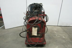 Lincoln Idealarc 250 Stick Arc Welder W miller Hf 15 1wg Arc Starter High Freq