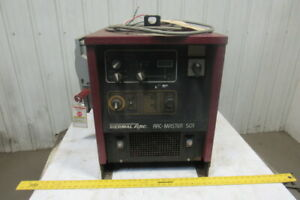 Thermal Arc Arc master 501 500a Dc Welder Pulse Multiprocessor 230 460v 3ph