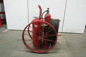Ansul A 150 c Steel Wheeled Foray Agent Abc Dry Chemical Fire Extinguisher