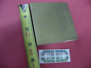 8 Pieces 1 2 X 3 C360 Brass Flat Bar 3 Long Solid Plate Mill Stock H02