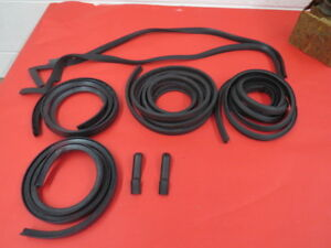 1941 48 Ford Coupe 2 Door Sedan Complete Door Weatherstrip Kit 11a 7020530 Kit