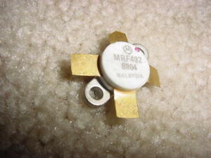 Mrf492 Motorola Npn High Power Transistor 70 Watts