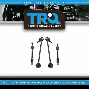 Stabilizer Sway Bar End Link Front Rear Lh Rh Kit Set 4pc For 09 16 Ram 1500 New