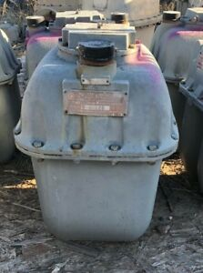 Used R 750 Natural Gas Meter 20 Psi Case 10 as Is