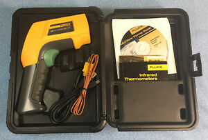 Pre owned Fluke 568 Infrared Contact Thermometer With Graphical Lcd Display