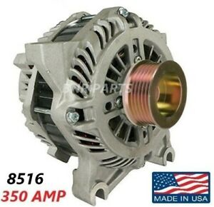 350 Amp 8516 Alternator Ford Mustang 4 6l High Output Performance Hd New Usa