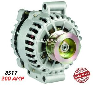 200 Amp 8517 Alternator Ford Mustang Shelby Gt500 High Output Hd