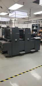Heidelberg Print Master 2007 52 Press 2 Color