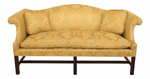 30555ec Kittinger Colonial Williamsburg Cw 23 Chippendale Sofa