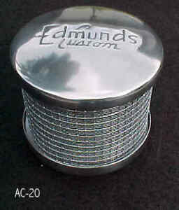 Air Cleaner Edmunds Tall 2 5 8 Neck Stromberg Holley Rochester