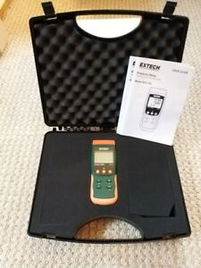 Extech Instruments Sdl700 Pressure Meter datalogger New With Case