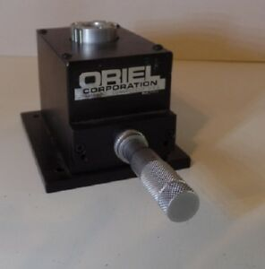 Oriel Instrument Optical Stand Or Mount Assembly With Differential Micrometer