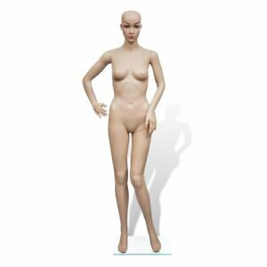 Mannequin Female Realistic Fashion Display Full Body Arms Model 360 Rotatable
