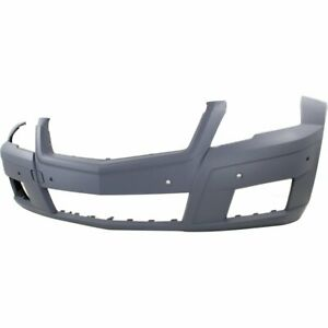 Front Bumper Cover For 2010 2012 Mercedes Benz Glk350 W Parktronic Holes Primed