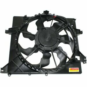 Cooling Fan Assembly New For Kia Forte Koup Forte5 14 16 Ki3115139 25380a7000