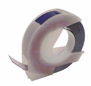 Compatible For Dymo Blue Embossing Label Tape A0898140