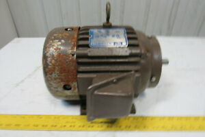 Delco Eg1354c1 2hp 1740rpm 460v 60hz 184c Frame Electric Ac Motor