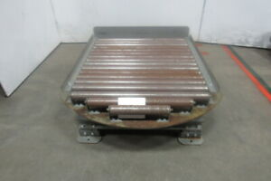 Lewco 31 Bf X 34 L X 16 H 360 Turn Table Gravity Roller Conveyor