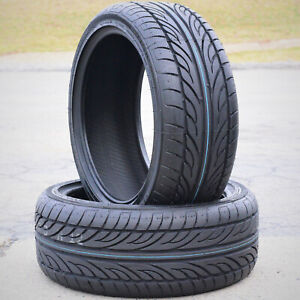 2 New Forceum Hena 245 40r17 Zr 95w Xl A s High Performance All Season Tires