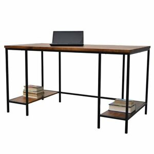 Finn 58 inch Wood Metal Desk