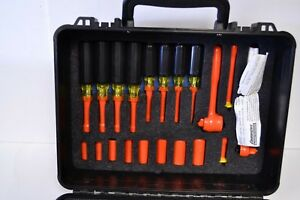 Cementex Insulated 47 Piece Professional Electricians Tool Kit