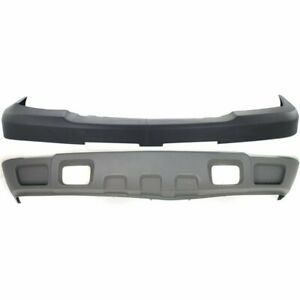 Front Bumper Cover Kit For 2003 2006 Chevrolet Silverado 3500 W Valance Primed