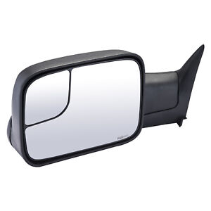 Towing Mirror For 1994 2002 Dodge Ram 1500 2500 3500 Driver Left Side Manual Lh