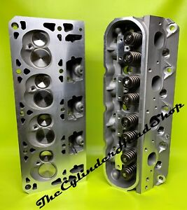 New Aluminum Performance Ls1 Ls2 Ls6 Chevy Cylinder Heads 650 Springs 210cc