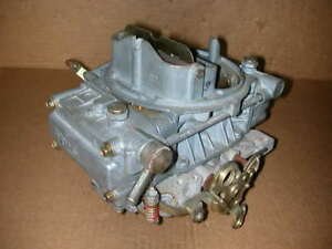 Holley 4160 Carburetor 1850 5 600cfm Manual Choke