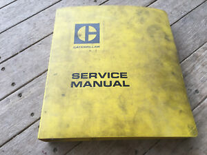 Caterpillar Cat 966 Front End Loader Service Manual