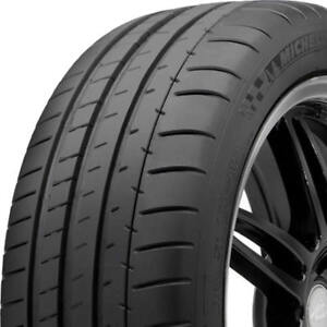 2 New 255 40zr18 Xl Michelin Pilot Super Sport 99y Performance Tires Mic73229